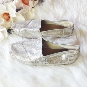 Toms | Silver Sequins